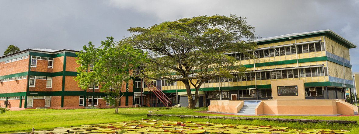 Main Library - University of Guyana